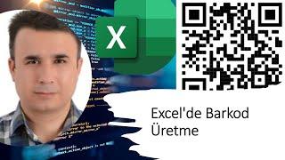 Excel'de Barkod Üretme