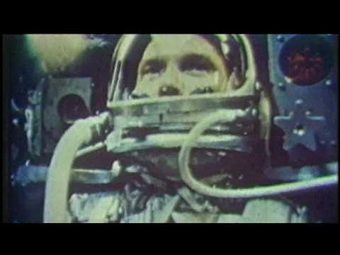 JOHN GLENN IN ORBIT