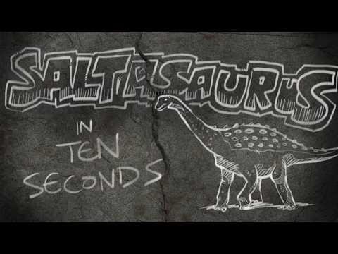 Saltasaurus In Ten Seconds | Quick Draw Dinosaur #2