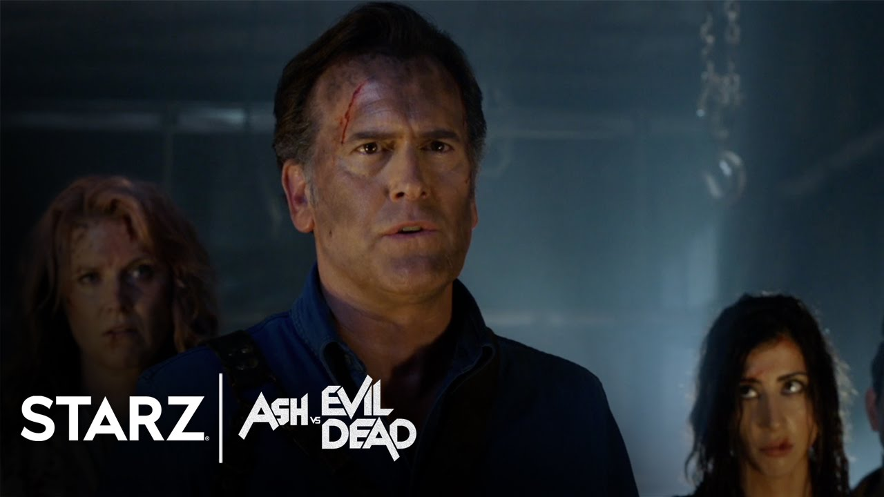 ash vs evil dead season 2 tease starz youtube