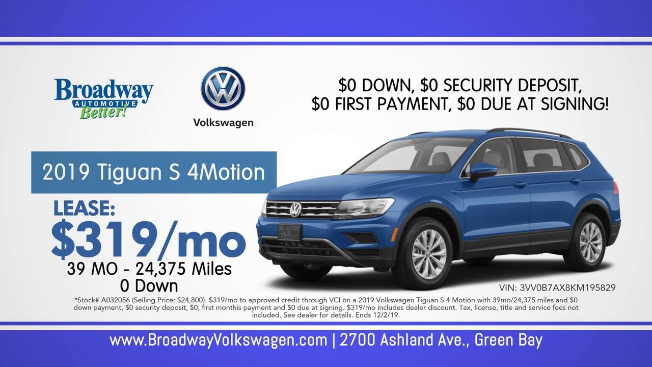 Volkswagen Black Friday Sales Event Broadway In Green Bay Youtube