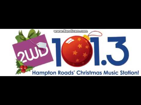 25 Days of Christmas Radio 2016 EXTRA: WWDE 1013 2WD Station ID December 5, 2016 10:01pm