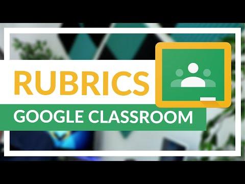 Grade Student work Using rubrics Google Classroom (Save Time)