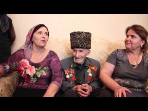 Поздравление ветеранов ВОВ Кизилюртовского района