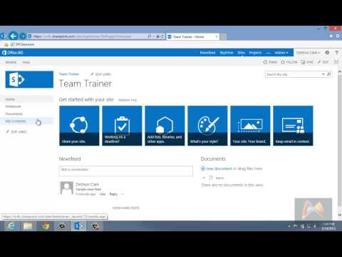 Lesson 01: SharePoint 2013 Basics