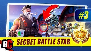 Fortnite | WEEK 3 Secret Battle Star Location (Season 7 Week 3 Loading Screen / Snowfall Skin)