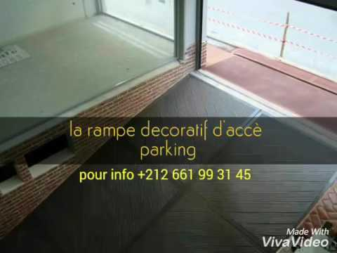 Descente De Garage En Bton Decoratif Gsm       Youtube