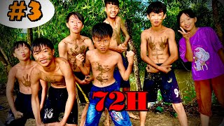 Anh Ba Phải   Thử Thách 72H Cắm Trại Ngoài Đồng Phần 3 - 24h Sống Chung Với Bão   72H Challenge