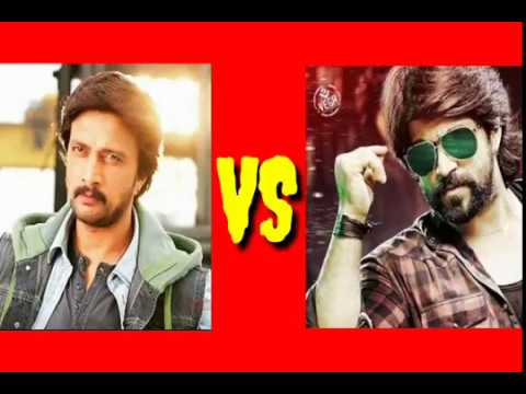 *sudeep VS yash dailogue dj song