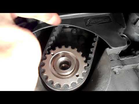 как поменять на рено клио,окончательная сборка и проверка ,двигатель К4J Часть 5