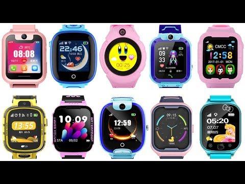 Топ 10: Лучшие Gps часы для детей 2019. Smart Baby Watch. Детские смарт часы - трекер.