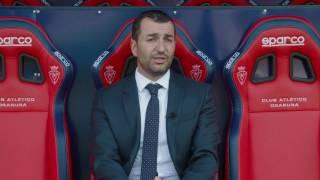 Diego Martínez, nuevo entrenador de Osasuna.