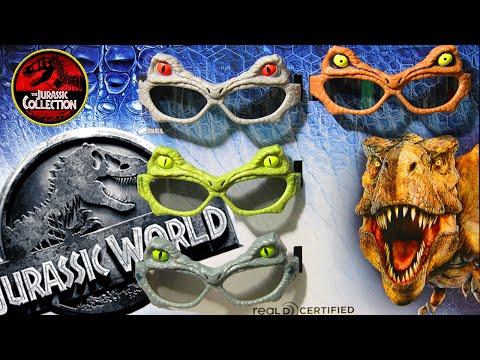 RealD 3D Glasses! | JURASSIC WORLD EXCLUSIVES! |  2015 Chris Pratt Dinosaur Movie