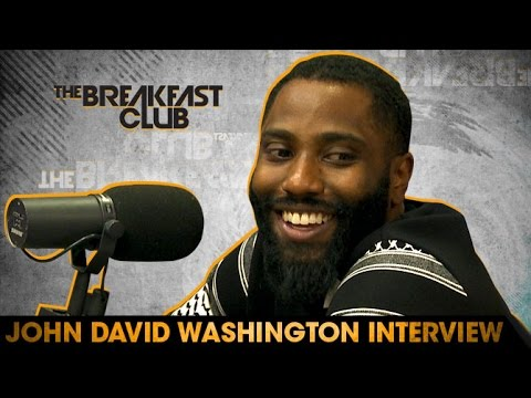 John David Washington Interview With The Breakfast Club
