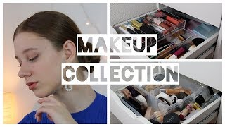 My MAKEUP COLECTION 2018 +Organisation Life Hacks!!