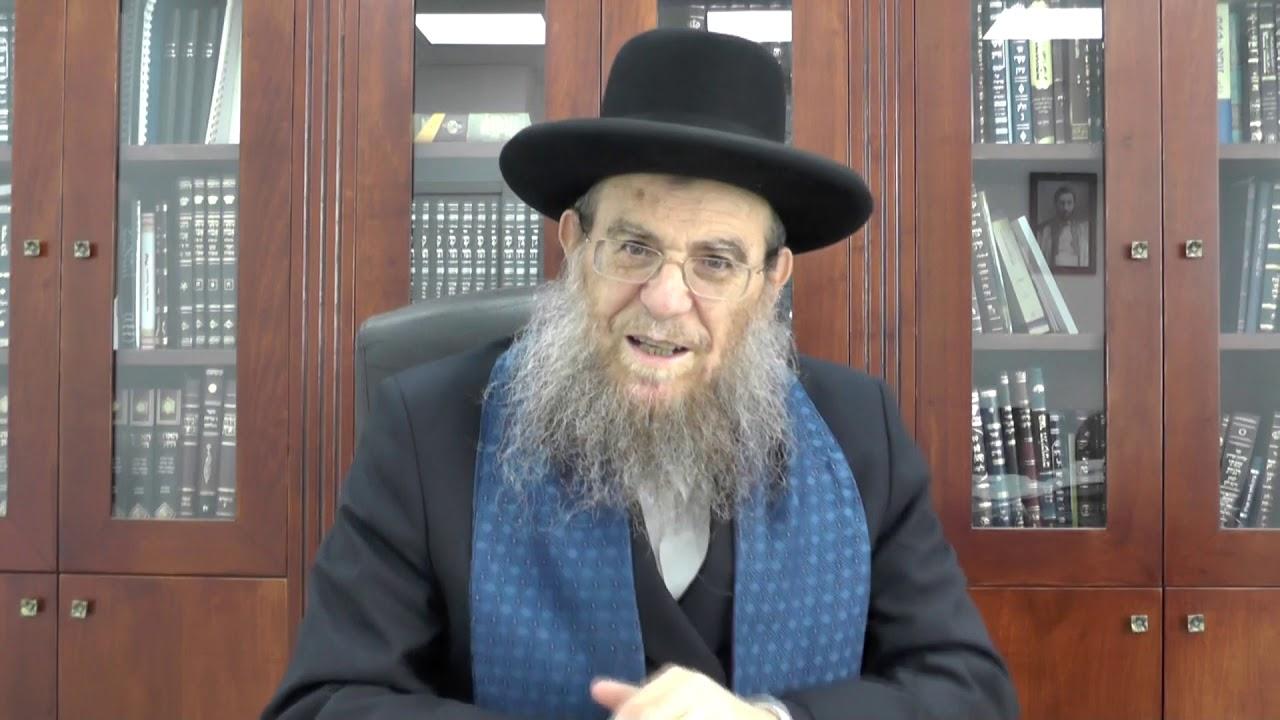 """הגאון הגדול הרב יצחק ברדא שליט""""א - פרשת פקודי"""