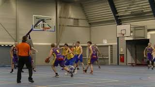 7 december 2019 Jump MSE1 vs Rivertrotters MSE2 72-79 4th period