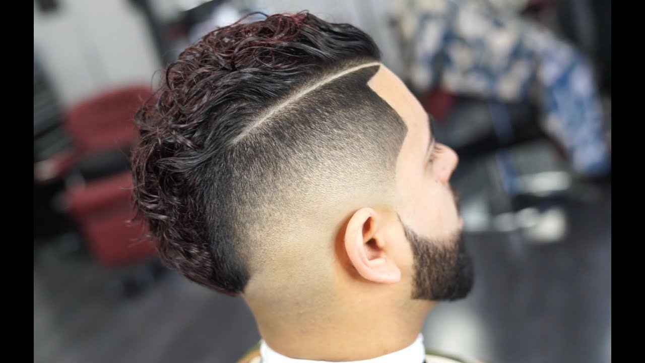 The Comb Over Mohawk Mens Haircut Youtube