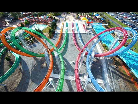 AMAZING SLIDES!!! Wet N' Wild Gold Coast