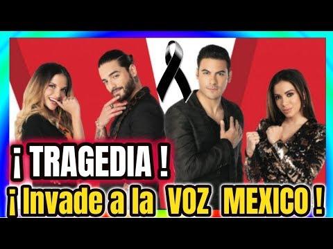 � TRISTE NOTICIA ! El LUTO Envuelve a LA VOZ MEXICO por estos inesperados HECHOS HOY 2018