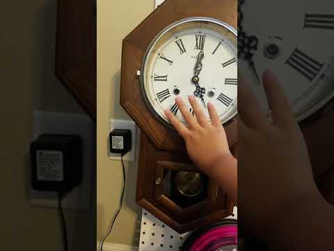 Necor 31 Day  Movement Clock