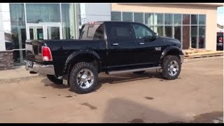 lifted 2014 ram 1500 crew cab laramie   rig ready rams redwater