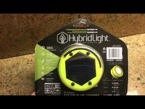 HybridLight PUC Solar Lantern and Light Short Review