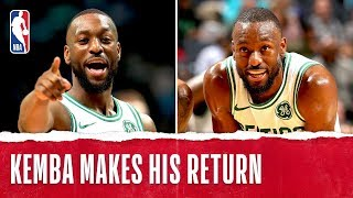 Kemba's Best Plays In His Return To Charlotte