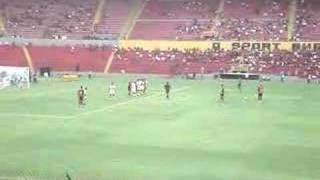 Gol de Luisinho Neto - SPORT 8x0 Serrano