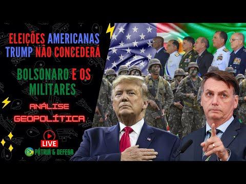 Trump Não Concederá - Bolsonaro e os Militares