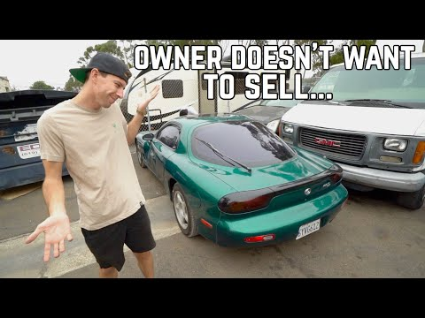 Making an offer on a Junkyard RX-7...