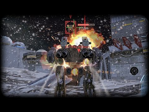 War Robots : Snowfall in Yamanatu Map