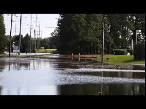 Hurricane Matthew - Rocky Mount, NC - Old Mill Rd