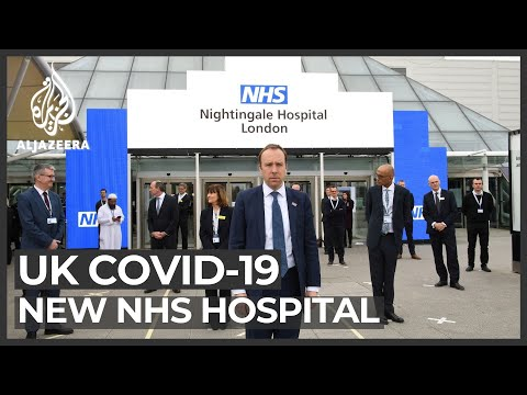 London's Newest 4,000-bed Hospital To Treat COVID-19 Patients