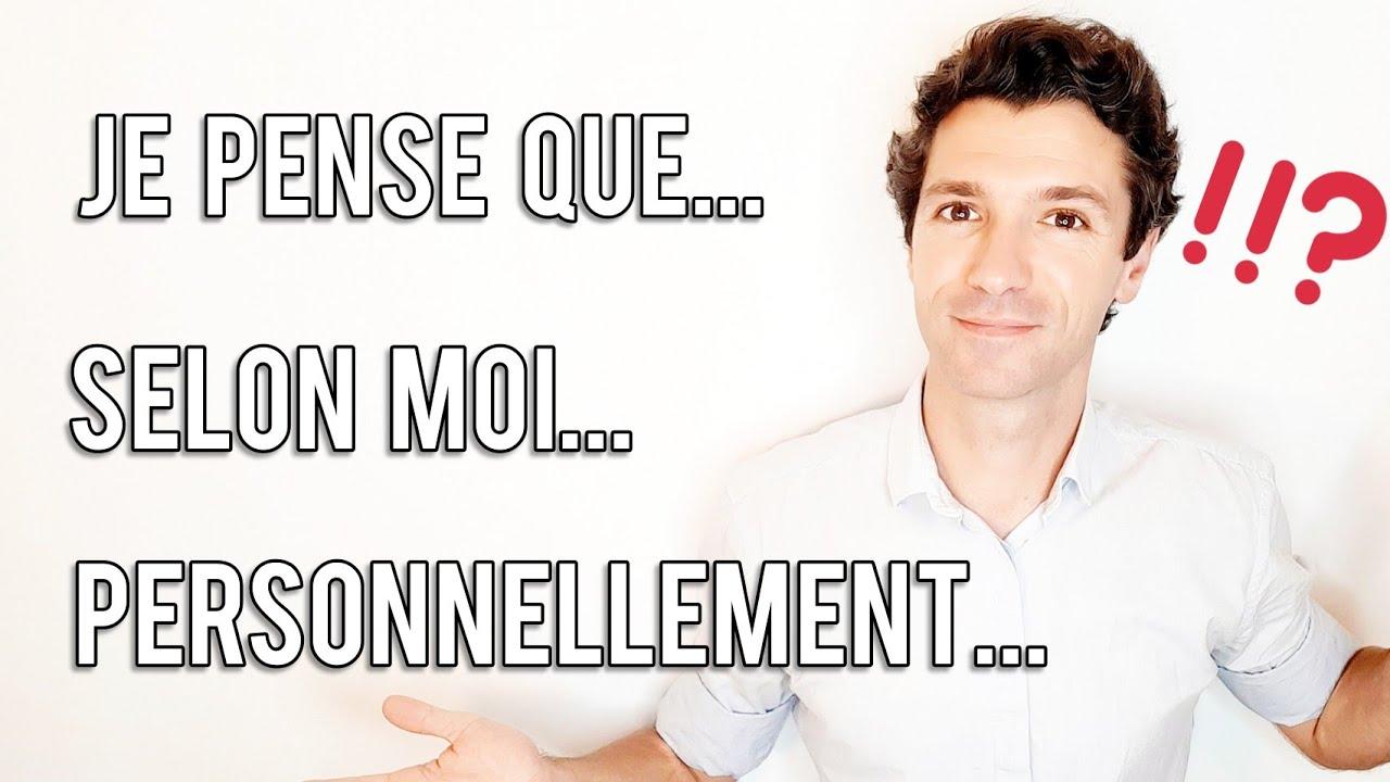Download Exprimer l'opinion, l'accord, le désaccord en français | Niveau B1 B2