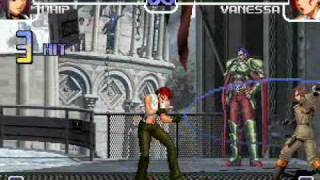 Combos KOF 2002 Ultimate Combo Movie (KOF Cyberfanatics)