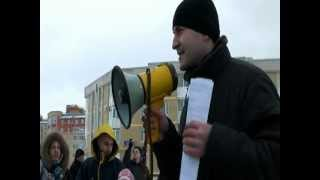 Митинг обманутых дольщиков 25.02.2012.СПБ.Пушкин
