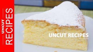 ☑️ Japanese Cheese Cake Recipe | Uncut Recipes