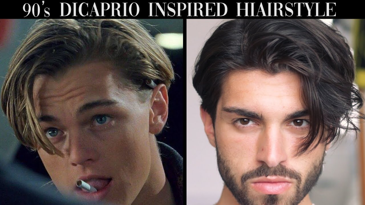Mens Hair Leonardo Dicaprio Inspired Hairstyle Tutorial