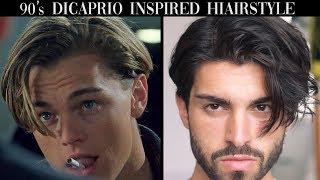 Men's Hair | Leonardo DiCaprio Inspired Hairstyle Tutorial