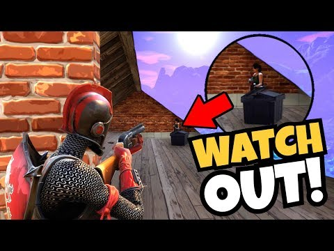 Dangerous Game of Peak-A-Boo (Fortnite Battle Royale) Gameplay