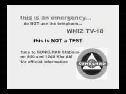 Conelrad Radio Nuclear Attack Warning Youtube