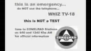 conelrad radio nuclear attack warning