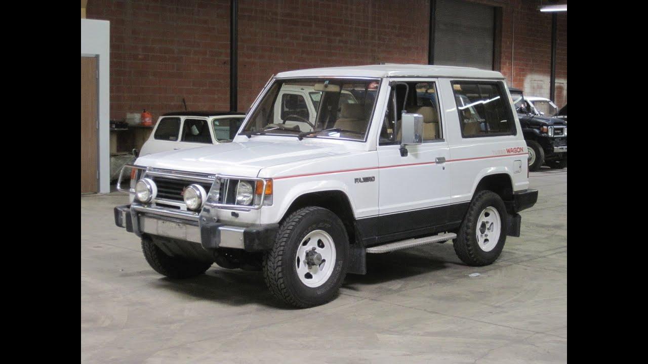 1986 mitsubishi pajero turbo diesel 25l218 sold youtube rh youtube com 1986 Mitsubishi Pajero Mitsubishi Pajero 2000
