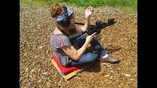 AR-15 Sitting Position Training