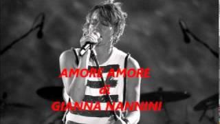 Gianna Nannini Amore Amore