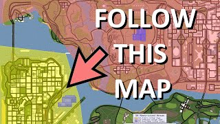 How to fly across the map and not get a Wanted Level (very beginning of the game) - GTA San Andreas