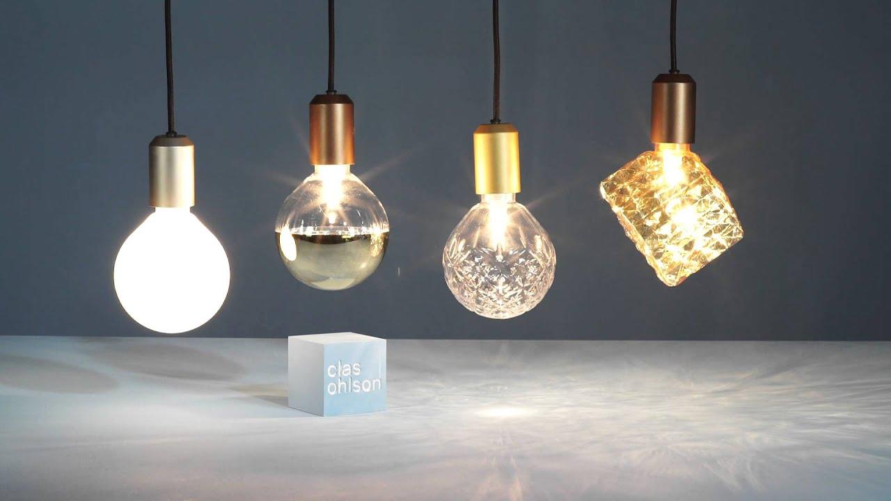 FÃ¥ det lille ekstra med designglasslamper – fra clas ohlson   youtube