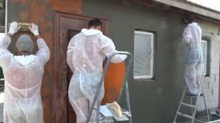 Отделка газобетонного фасада без утеплителя