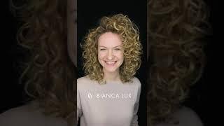 Крупная биозавивка на осветленные волосы от Bianca Lux